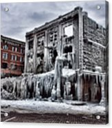 Icy Remains - After The Fire Acrylic Print