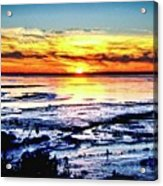 Icy Waters Acrylic Print