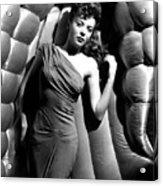 Ida Lupino, 1946 Acrylic Print by Everett