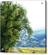 Idaho Road Trip Acrylic Print