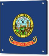 Idaho State Flag Acrylic Print