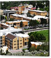 Idaho State University Upper Campus With Holt Arena Acrylic Print