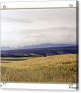 Idaho Valley Acrylic Print
