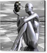 Identity Acrylic Print by Sandra Bauser Digital Art