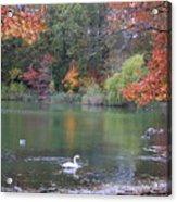 An Idyllic Autumn Acrylic Print
