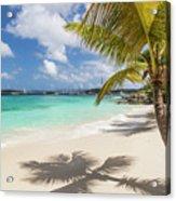 Idyllic Salomon Beach Acrylic Print