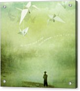 If Wishes Were Wings Acrylic Print by Silas Toball