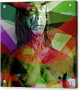 Iggy Not Ziggy Acrylic Print