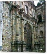 Iglesia De La Compania De Jesus 2 Acrylic Print