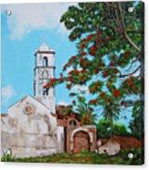 Iglesia De Santa Anna Acrylic Print