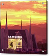 Iglesia Ni Cristo Sunset Cebu City Philippines Acrylic Print