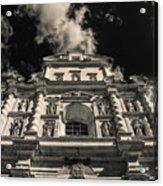 Iglesia San Francisco - Antigua Guatemala Bnw I Acrylic Print
