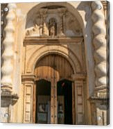 Iglesia San Francisco - Antigua Guatemala Viii Acrylic Print