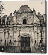 Iglesia San Jose El Viejo - Antigua Guatemala Acrylic Print