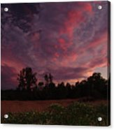 Igo Sunset Acrylic Print