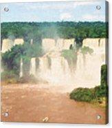Iguazu Falls 2 Acrylic Print