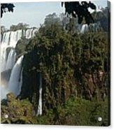 Iguazu Falls Panoramic View Acrylic Print