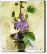 Ikebana Lilacs Acrylic Print
