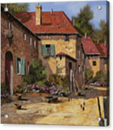 Il Carretto Acrylic Print by Guido Borelli
