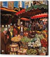 Il Mercato Di Quartiere Acrylic Print