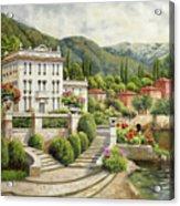 Il Palazzo Sul Lago Acrylic Print