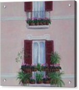 Il Terrazo In Roma  Piazza Navona Acrylic Print