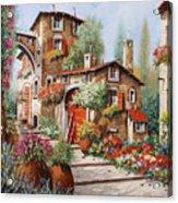 Il Villaggio Acrylic Print