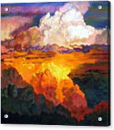 Ill Fly Away O Glory Acrylic Print