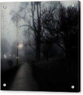 I'll Walk With You Tonite Acrylic Print