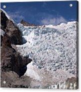 Illampu Glacier Acrylic Print