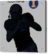 Illinois Football Acrylic Print