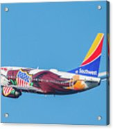 Illinois One Departing Dca Acrylic Print