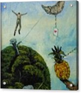 Illusions That Fall At Dawn Acrylic Print by Carlos Rodriguez Yorde