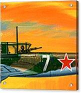 Ilyushin II 2m3 Russian Ground Attack Aircraft Acrylic Print