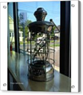 Image Included In Queen The Novel - Lantern In Window 19of74 Enhanced Poster Acrylic Print