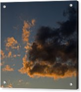 Image Of Clouds At Sunset Acrylic Print
