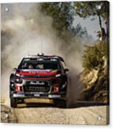 imagejunky_KB - RallyRACC WRC Spain - Lefebvre / Patterson Acrylic Print