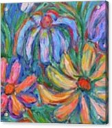 Imaginary Flowers Acrylic Print