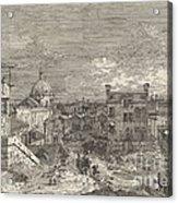 Imaginary View Of Venice Acrylic Print