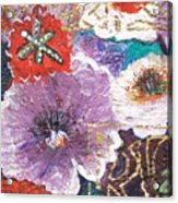 Imagine Flowers Instead Of Powers Acrylic Print