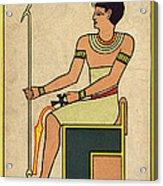 Imhotep, Egyptian Polymath Acrylic Print