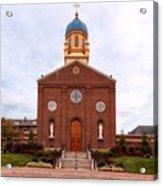 Immaculate Conception Chapel - University Of Dayton Acrylic Print