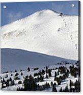 Imperial Bowl On Peak 8 At Breckenridge Colorado Acrylic Print