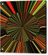 Implosion Acrylic Print