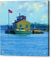 Impossible House Boat  - New York Acrylic Print