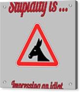 Impressing Bigstock Donkey 171252860 Acrylic Print