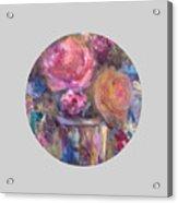Impressionist Floral Art Acrylic Print