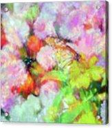 Impressionist Floral Xxxi Acrylic Print
