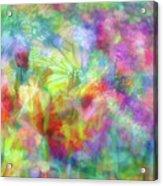 Impressionist Floral Xxxii Acrylic Print