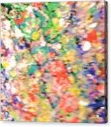 Impressionistic Floral Fantasy  Acrylic Print